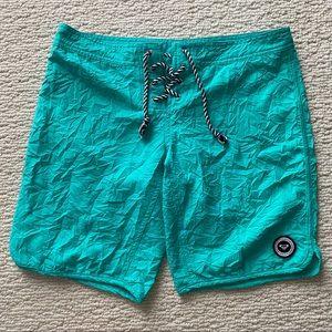NWOT - Roxy Teal Board Shorts